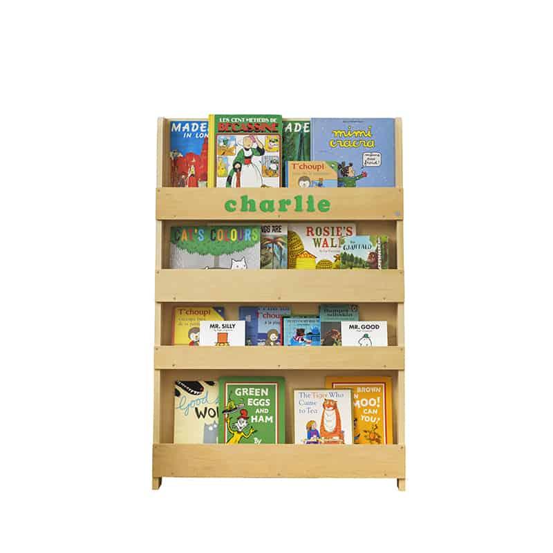 Children's bookcases, Tidy Books, Tidy Books Children Bookcases, kids bookcases, Personalised Children's Bookcase Natural