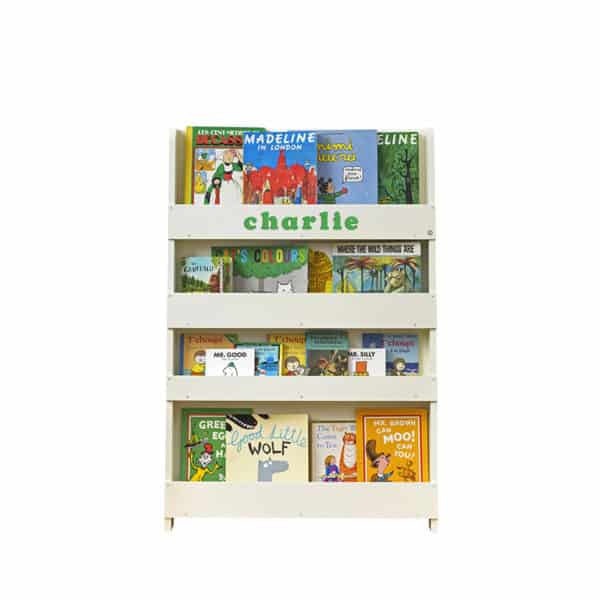 Children's bookcases, Tidy Books, Tidy Books Children Bookcases, kids bookcases, Personalised Children's Bookcase Ivory