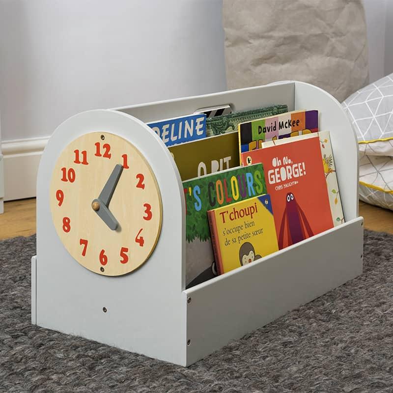 Tidy Books Children's Book Storage Box, Children's Book Storage Box, Tidy Books Book Box, Book Box, Tidy Books Box, Tidy Books Children's Book Storage Box Grey